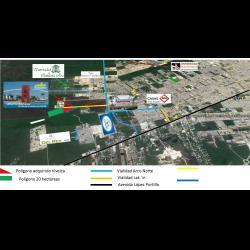 Terreno en desarrollo poligono zona norte en venta