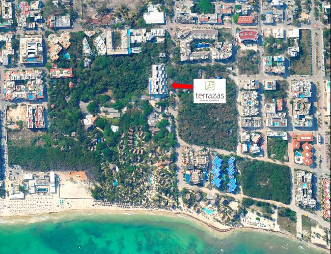 Departamentos en Venta Terrazas, Playa del Carmen