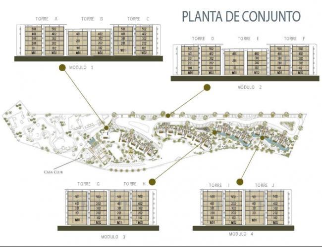 """Departamento en Venta """"Anthea"""" Mérida"""