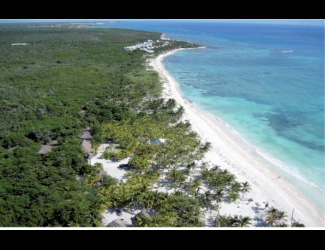 Terreno en Venta con Playa en Riviera Maya